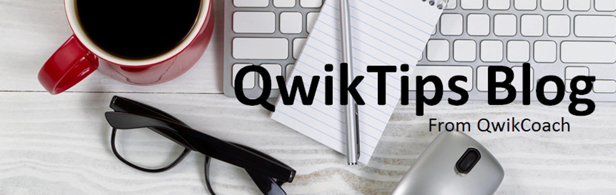 qwiktips blog banner